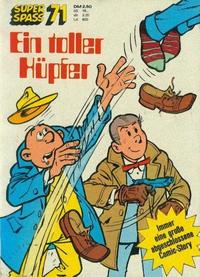 Cover Thumbnail for Kauka Super Serie (Gevacur, 1970 series) #71 - Harro und Platte - Ein toller Hüpfer