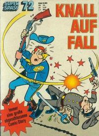 Cover Thumbnail for Kauka Super Serie (Gevacur, 1970 series) #72 - Die Blauen Boys - Knall auf Fall
