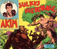 Cover Thumbnail for Akim (Bozzesi Verlag, 1960 series) #42