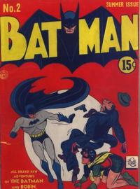 Cover Thumbnail for Batman (DC, 1940 series) #2 [Canadian]