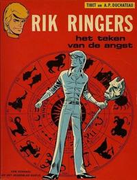 Cover Thumbnail for Rik Ringers (Uitgeverij Helmond, 1973 series) #19 - Het teken van de angst