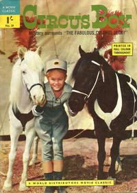 Cover Thumbnail for A Movie Classic (World Distributors, 1956 ? series) #39 - Circus Boy