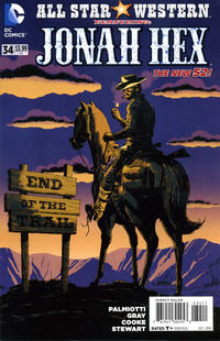 Cover Thumbnail for All Star Western (DC, 2011 series) #34
