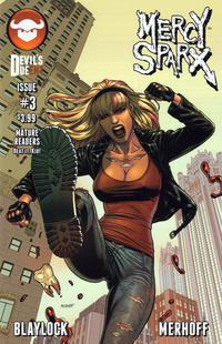 Cover Thumbnail for Mercy Sparx (Devil's Due Publishing, 2013 series) #3 [Cover A]
