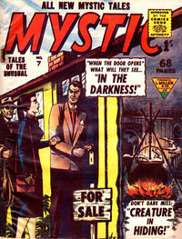 Cover Thumbnail for Mystic (L. Miller & Son, 1960 series) #7