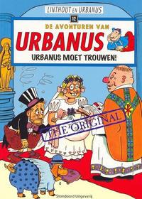 Cover Thumbnail for De avonturen van Urbanus (Standaard Uitgeverij, 1996 series) #12 - Urbanus moet trouwen!