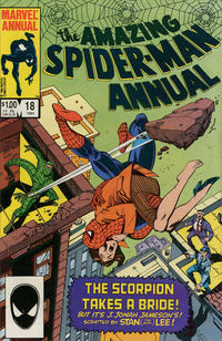 Cover Thumbnail for The Amazing Spider-Man Annual (Marvel, 1964 series) #18 [Direct]