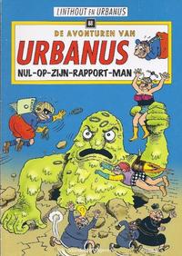 Cover Thumbnail for De avonturen van Urbanus (Standaard Uitgeverij, 1996 series) #88 - Nul-op-zijn-rapport-man