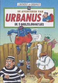 Cover Thumbnail for De avonturen van Urbanus (Standaard Uitgeverij, 1996 series) #94 - De 3 griezelbiggetjes