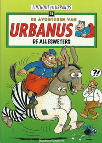 Cover Thumbnail for De avonturen van Urbanus (Standaard Uitgeverij, 1996 series) #76 - De allesweters