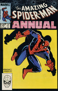 Cover Thumbnail for The Amazing Spider-Man Annual (Marvel, 1964 series) #17 [Direct Edition]