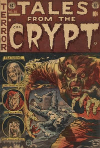 Cover Thumbnail for Tales from the Crypt (Superior Publishers Limited, 1950 series) #35