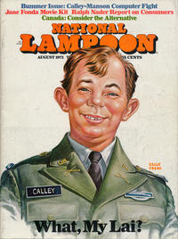 Cover Thumbnail for National Lampoon Magazine (National Lampoon, Inc., 1970 series) #v1#17