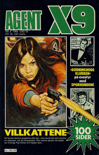 Cover Thumbnail for Agent X9 (Semic, 1976 series) #5/1982
