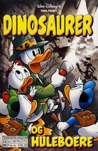 Cover Thumbnail for Donald Duck Tema pocket; Walt Disney's Tema pocket (Hjemmet / Egmont, 1997 series) #[68] - Dinosaurer og huleboere