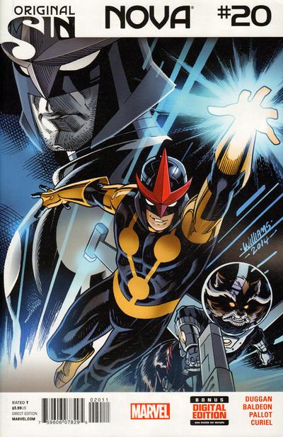 Cover for Nova (Marvel, 2013 series) #20