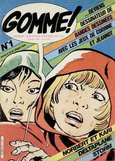 Cover for Gomme! (Glénat, 1981 series) #1