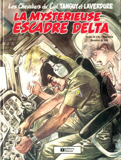 Cover for Tanguy et Laverdure (Éditions Fleurus, 1979 series) #19 - La mystérieuse escadre Delta
