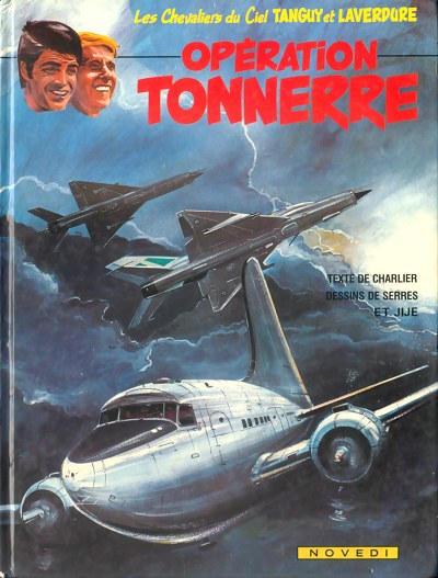 Cover for Tanguy et Laverdure (Novedi, 1981 series) #20 - Opération Tonnerre