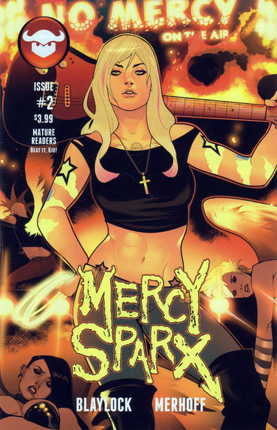 Cover for Mercy Sparx (Devil's Due Publishing, 2013 series) #2 [Cover A]