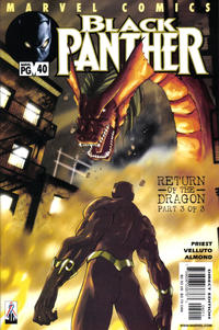 Cover Thumbnail for Black Panther (Marvel, 1998 series) #40
