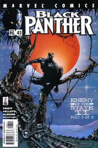 Cover Thumbnail for Black Panther (Marvel, 1998 series) #43