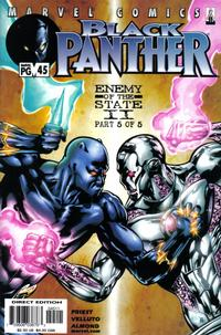 Cover Thumbnail for Black Panther (Marvel, 1998 series) #45