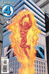 Cover Thumbnail for Fantastic Four (Marvel, 1998 series) #51 (480) [Direct Edition]
