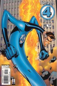 Cover Thumbnail for Fantastic Four (Marvel, 1998 series) #52 (481) [Direct Edition]