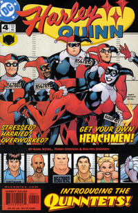 Cover Thumbnail for Harley Quinn (DC, 2000 series) #4 [Direct Sales]