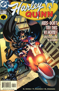 Cover Thumbnail for Harley Quinn (DC, 2000 series) #11 [Direct Sales]