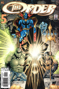 Cover Thumbnail for The Order (Marvel, 2002 series) #5 (17)