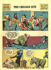 Cover Thumbnail for The Spirit (Register and Tribune Syndicate, 1940 series) #7/4/1943