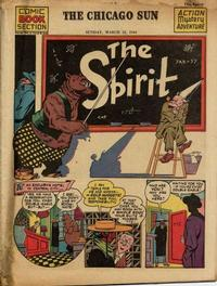Cover Thumbnail for The Spirit (Register and Tribune Syndicate, 1940 series) #3/12/1944