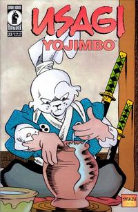 Cover Thumbnail for Usagi Yojimbo (Dark Horse, 1996 series) #33