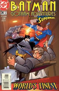 Cover Thumbnail for Batman: Gotham Adventures (DC, 1998 series) #36 [Direct Sales]