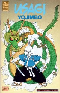 Cover Thumbnail for Usagi Yojimbo (Fantagraphics, 1987 series) #13