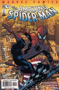 Cover Thumbnail for The Amazing Spider-Man (Marvel, 1999 series) #41 (482) [Direct Edition]