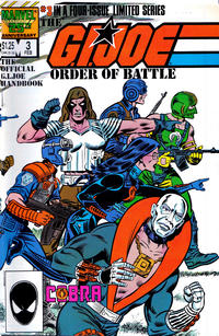 Cover Thumbnail for The G.I. Joe Order of Battle (Marvel, 1986 series) #3 [Direct Edition]