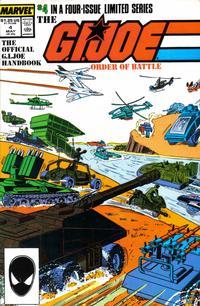 Cover Thumbnail for The G.I. Joe Order of Battle (Marvel, 1986 series) #4 [Direct]