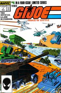 Cover Thumbnail for The G.I. Joe Order of Battle (Marvel, 1986 series) #4 [Direct Edition]