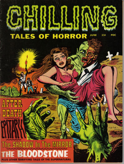 Cover for Chilling Tales of Horror (Stanley Morse, 1969 series) #v1#1