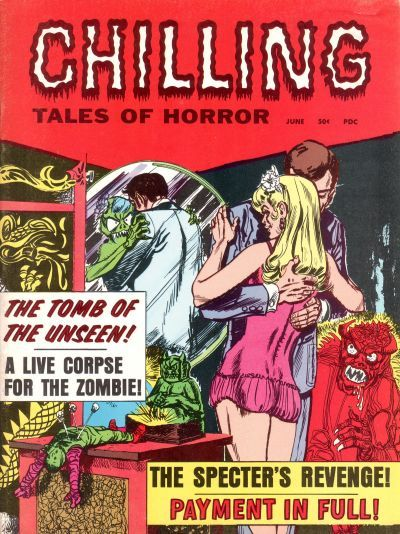 Cover for Chilling Tales of Horror (Stanley Morse, 1969 series) #v1#4