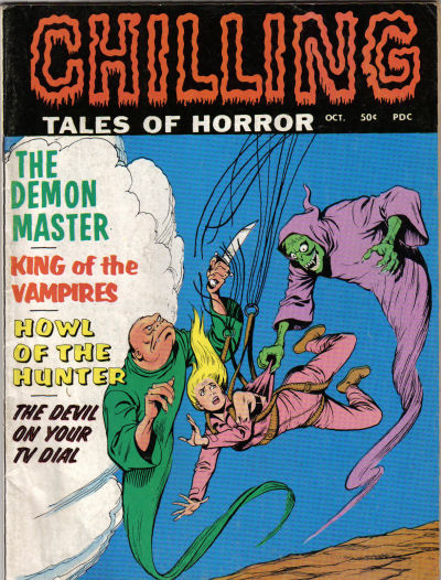 Cover for Chilling Tales of Horror (Stanley Morse, 1969 series) #v1#6