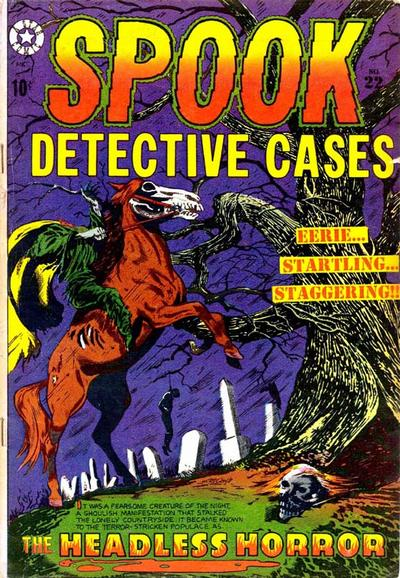 Cover for Spook (Star Publications, 1953 series) #22