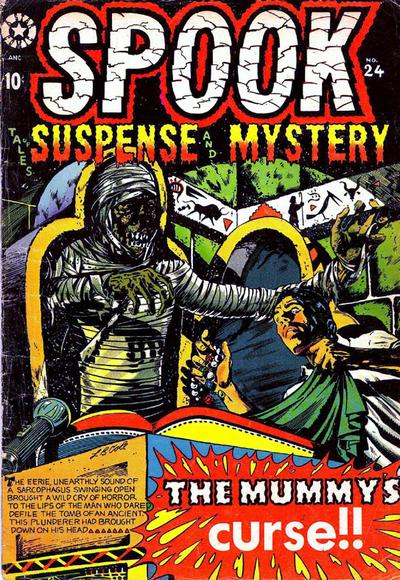 Cover for Spook (Star Publications, 1953 series) #24