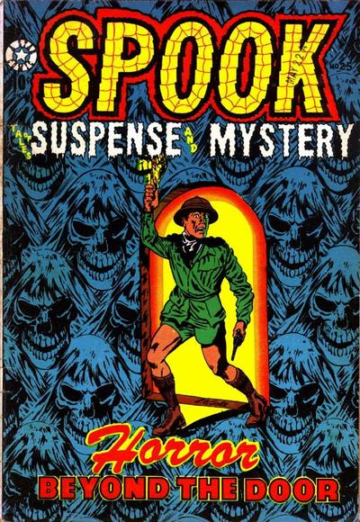 Cover for Spook (Star Publications, 1953 series) #25