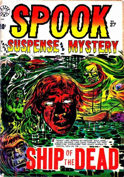 Cover for Spook (Star Publications, 1953 series) #27