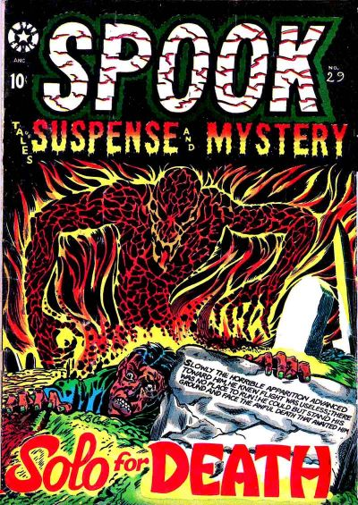 Cover for Spook (Star Publications, 1953 series) #29