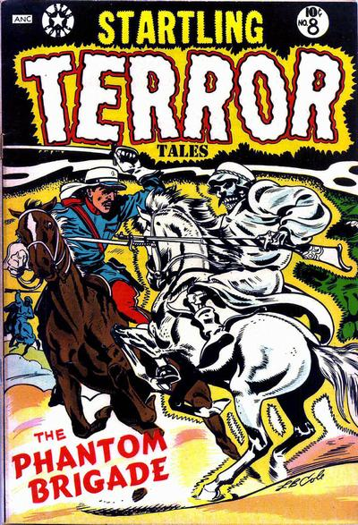 Cover for Startling Terror Tales (Star Publications, 1953 series) #8